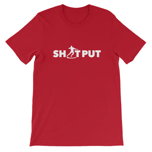 SHOT PUT MEN'S T-SHIRT RED