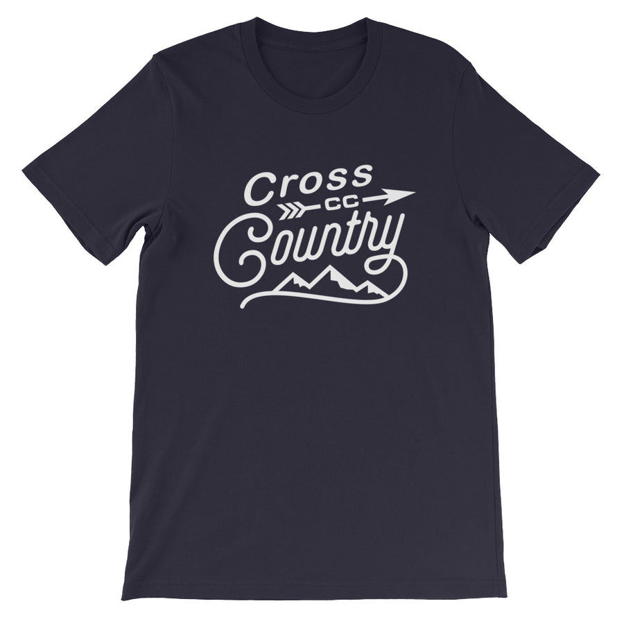 Cross Country Men's T-shirt  navy
