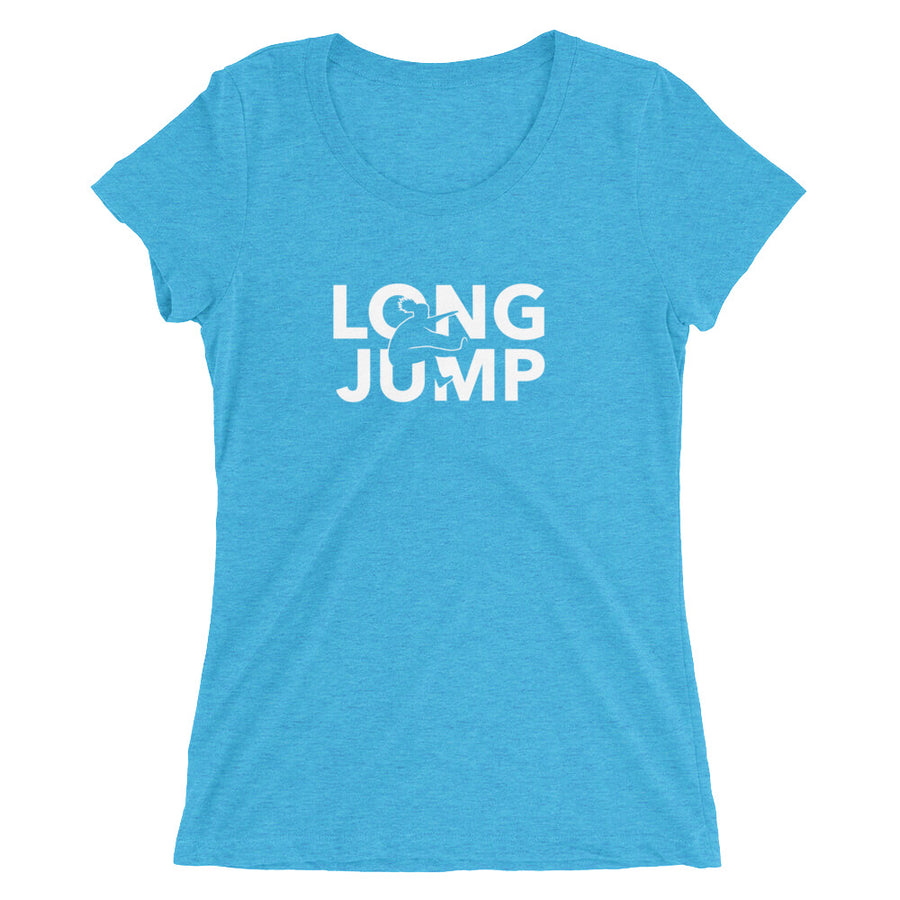 LONG JUMP WOMEN'S T-SHIRT BLUE