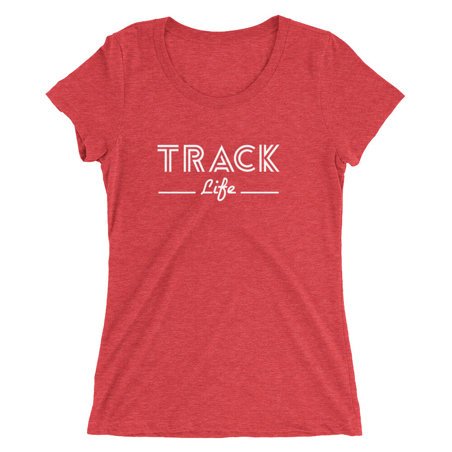 TRACK LIFE WOMEN'S T-SHIRT RED