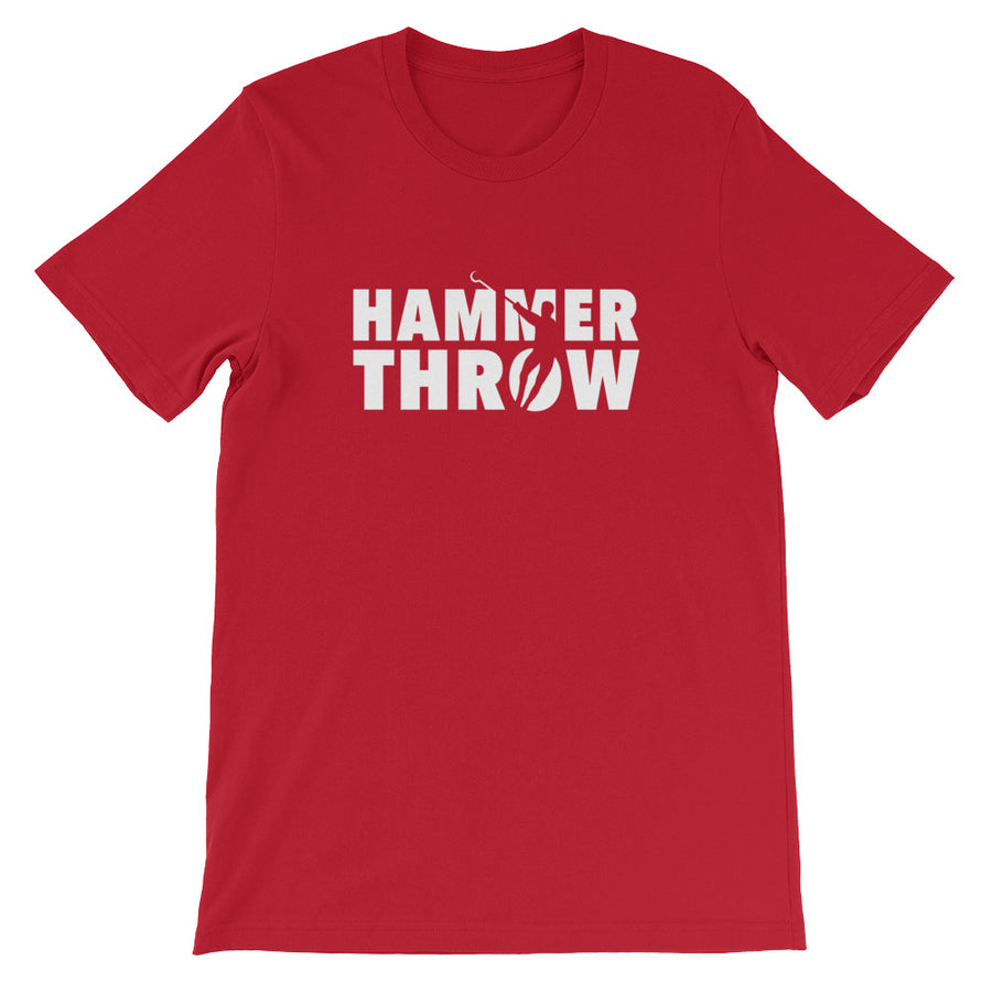 Hammer Throw Men's T-shirt red