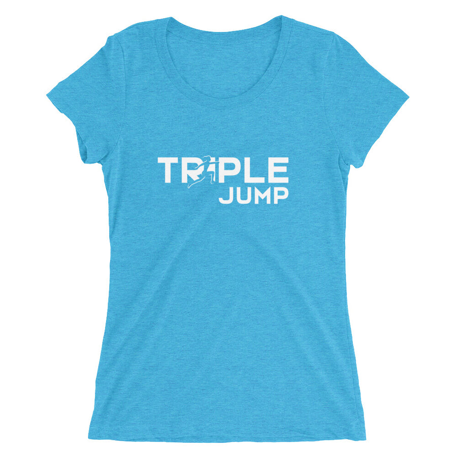 TRIPLE JUMP WOMEN'S T-SHIRT BLUE