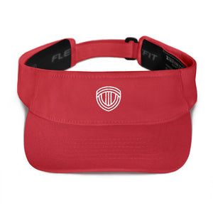 TRACK VALLEY VISOR RED