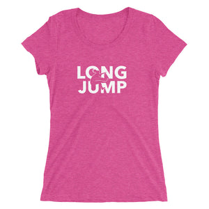 LONG JUMP WOMEN'S T-SHIRT PINK