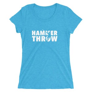 HAMMER THROW WOMEN'S T-SHIRT BLUE