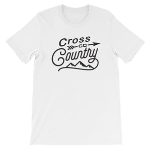 Cross Country Men's T-shirt white