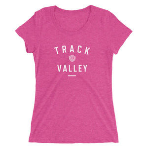 TRACK VALLEY VINTAGE WOMEN'S T-SHIRT PINK