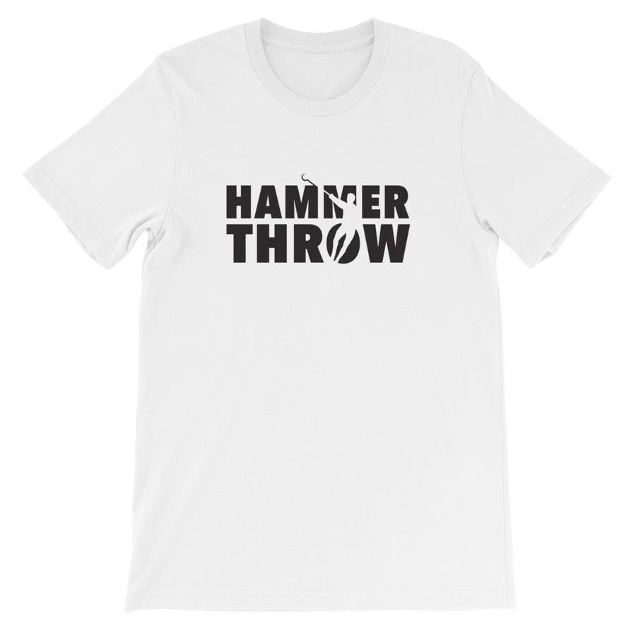 Hammer Throw Men's T-shirt white