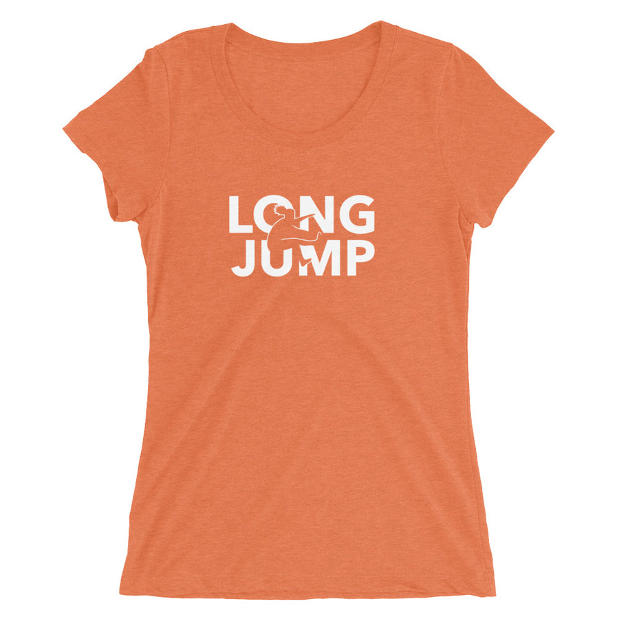 LONG JUMP WOMEN'S T-SHIRT ORANGE