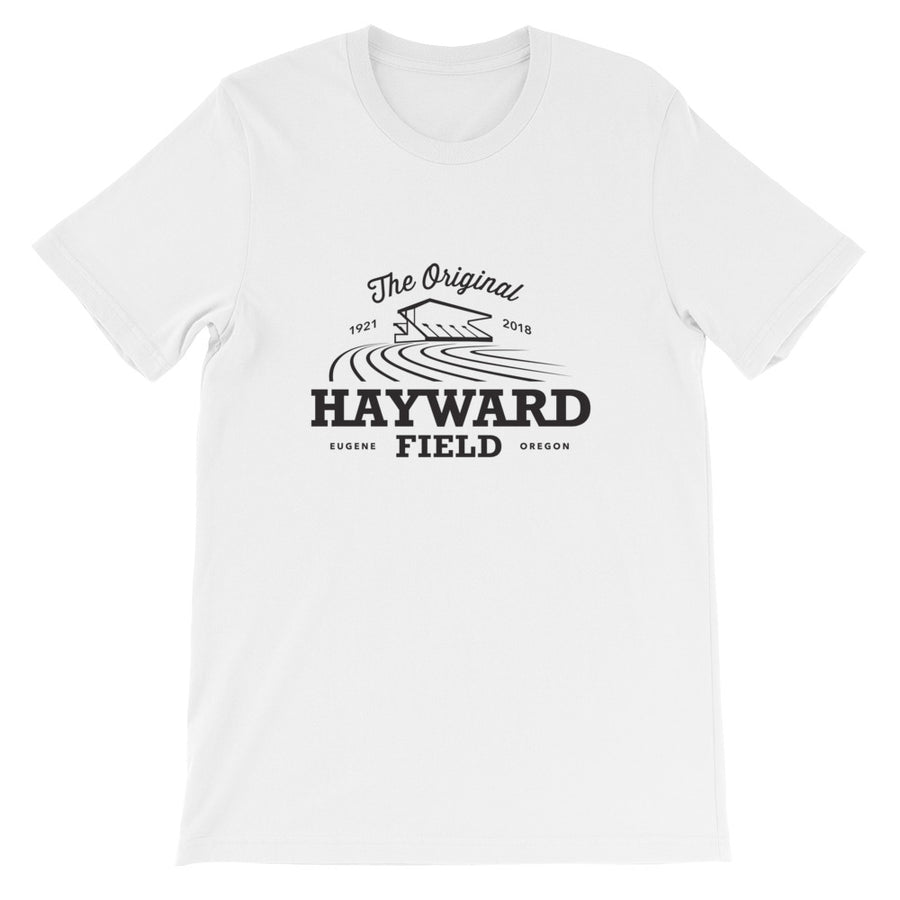 HAYWARD FIELD MEN'S T-SHIRT WHITE