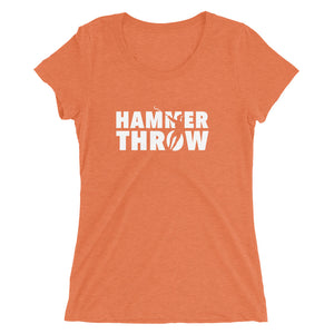 HAMMER THROW WOMEN'S T-SHIRT ORANGE