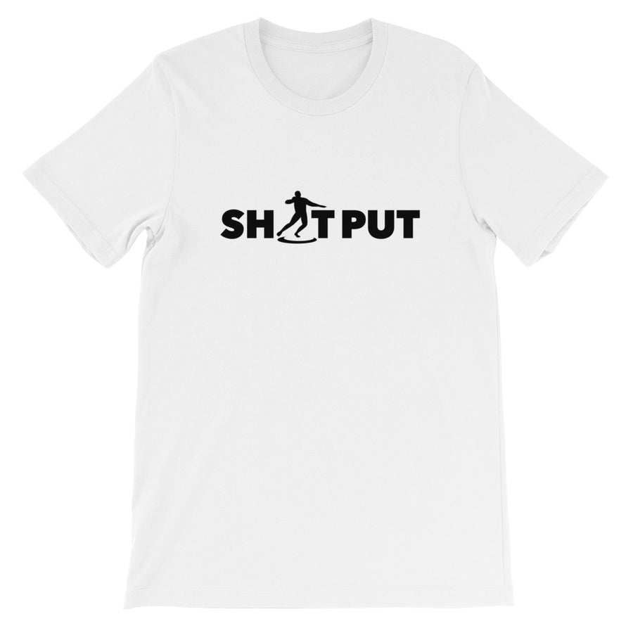 SHOT PUT MEN'S T-SHIRT WHITE