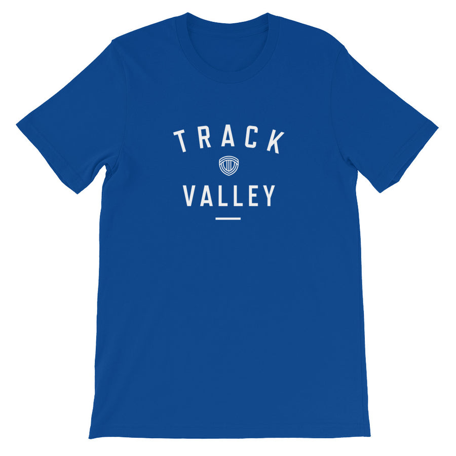 TRACK VALLEY VINTAGE MEN'S T-SHIRT BLUE