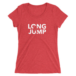 LONG JUMP WOMEN'S T-SHIRT RED
