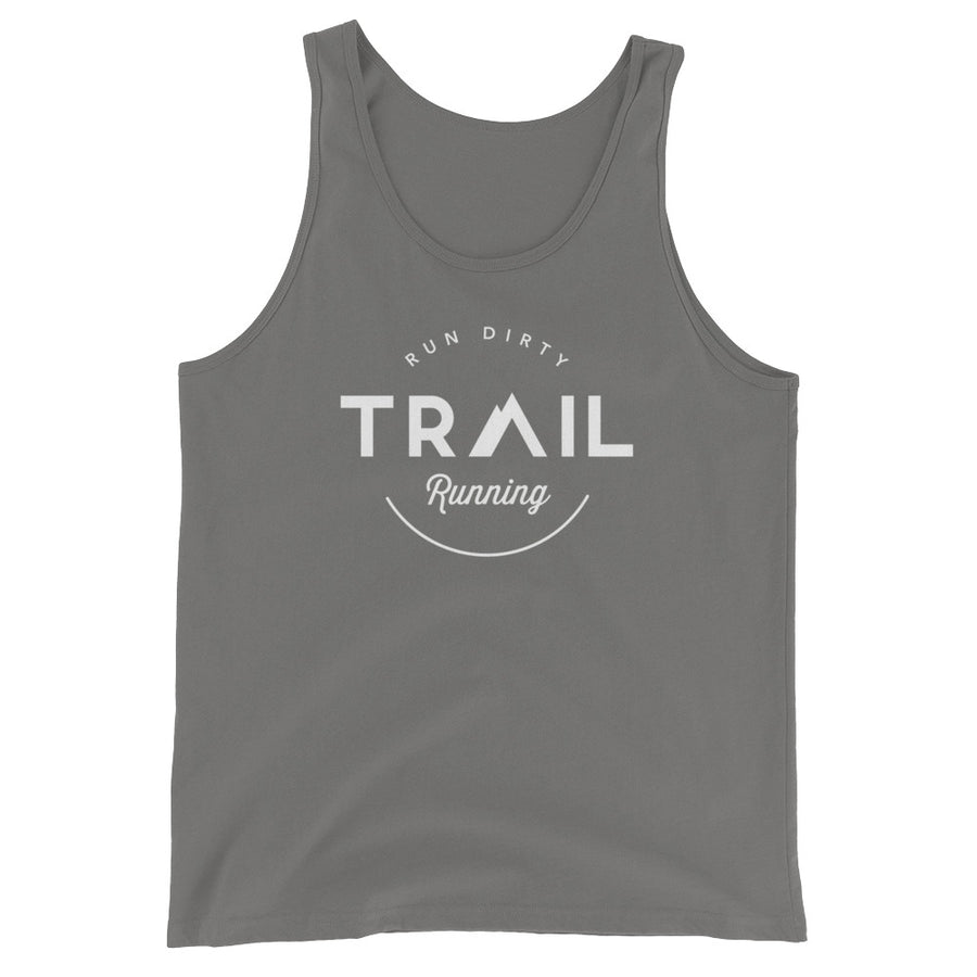TRAIL RUNNING MEN'S TANK TOP GRAY