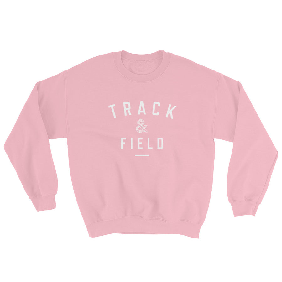 TRACK & FIELD WOMEN'S SWEATSHIRT PINK
