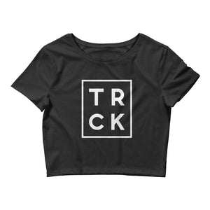 TRCK WOMEN'S CROP T-SHIRT BLACK