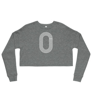 TRACK WOMEN'S CROP SWEATSHIRT GREY