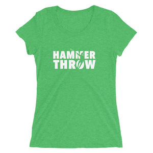 HAMMER THROW WOMEN'S T-SHIRT GREEN
