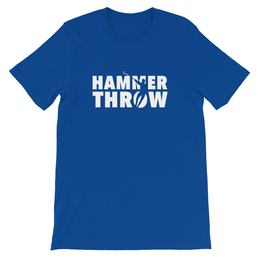 Hammer Throw Men's T-shirt  blue