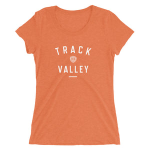 TRACK VALLEY VINTAGE WOMEN'S T-SHIRT ORANGE