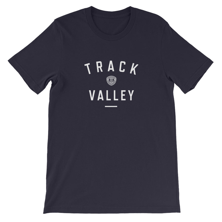 TRACK VALLEY VINTAGE MEN'S T-SHIRT NAVY