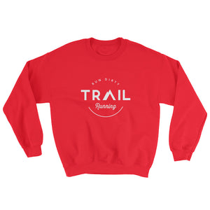 TRAIL RUNNING MEN'S SWEATSHIRT RED