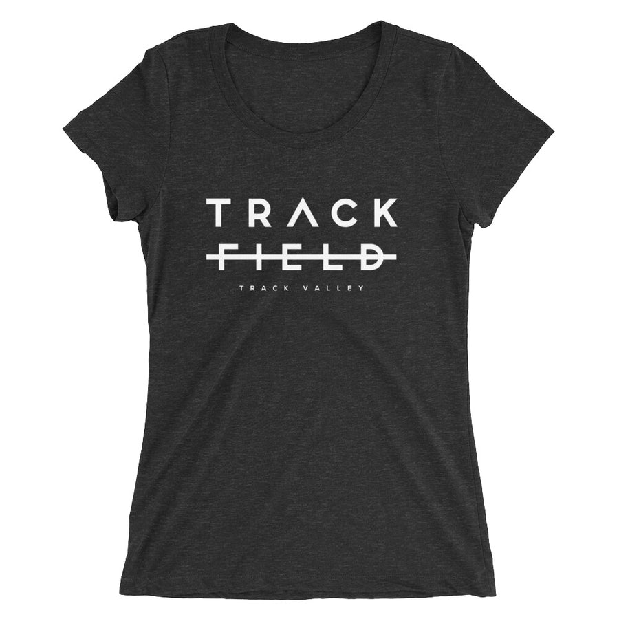 TRACK NOT FIELD WOMEN'S T-SHIRT BLACK
