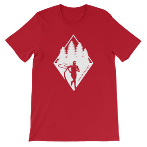TRAIL RUNNING MEN'S T-SHIRT RED