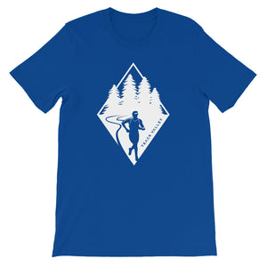 TRAIL RUNNING MEN'S T-SHIRT BLUE