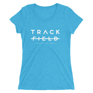 TRACK NOT FIELD WOMEN'S T-SHIRT BLUE