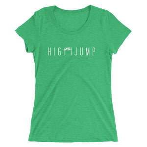 HIGH JUMP WOMEN'S T-SHIRT GREEN