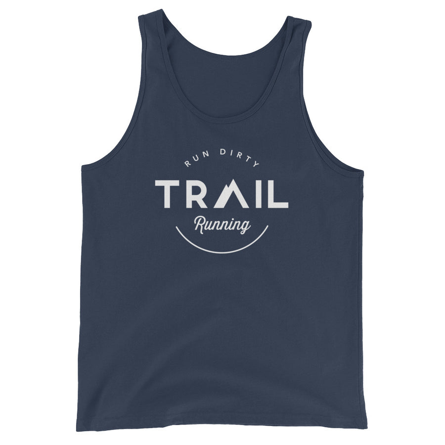 TRAIL RUNNING MEN'S TANK TOP NAVY