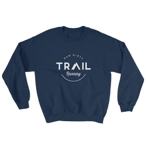TRAIL RUNNING MEN'S SWEATSHIRT NAVY