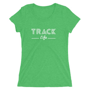 TRACK LIFE WOMEN'S T-SHIRT GREEN