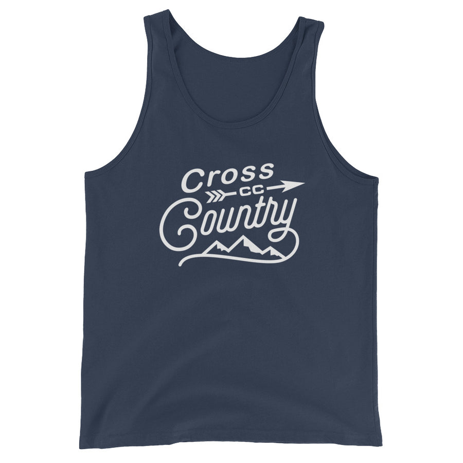 Cross Country Men's Tank Top navy