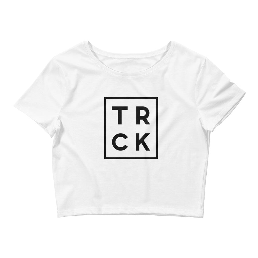 TRCK WOMEN'S CROP T-SHIRT WHITE
