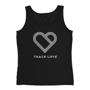 TRACK LOVE WOMEN'S TANK BLACK