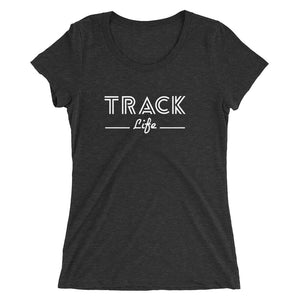 TRACK LIFE WOMEN'S T-SHIRT BLACK