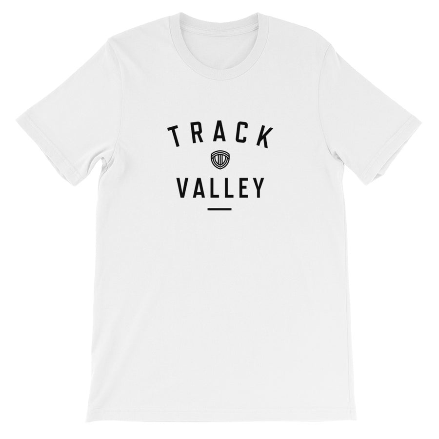 TRACK VALLEY VINTAGE MEN'S T-SHIRT WHITE