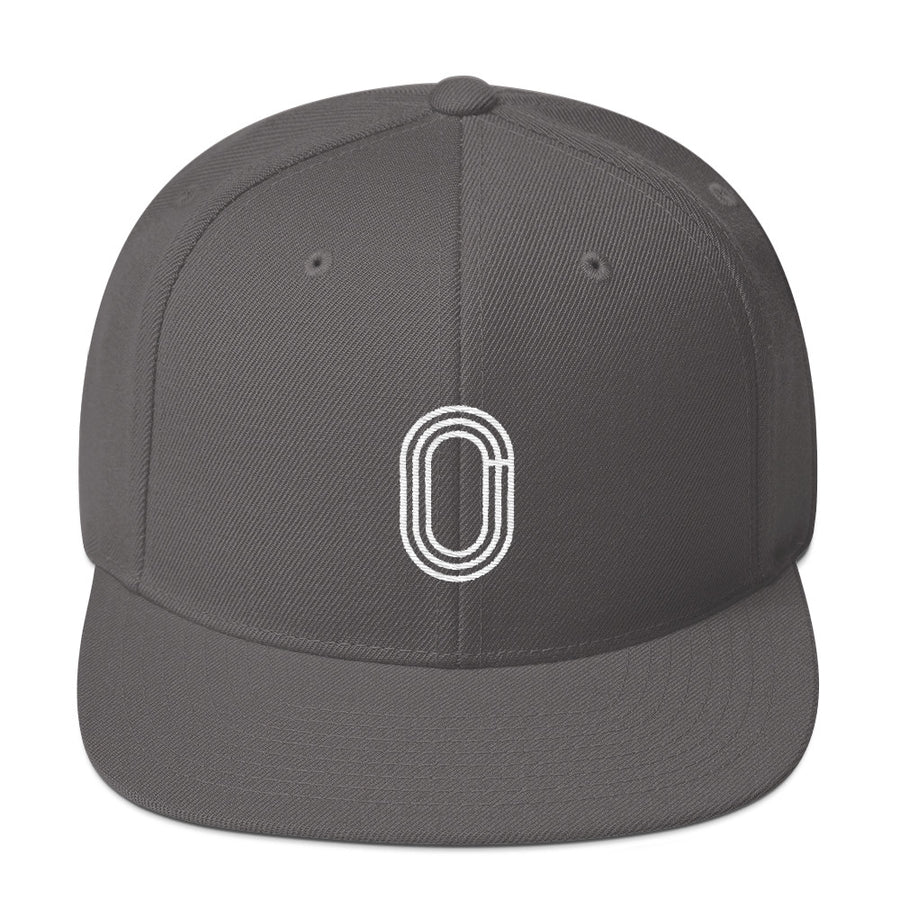 TRACK AND FIELD SNAPBACK HAT GREY