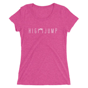 HIGH JUMP WOMEN'S T-SHIRT PINK
