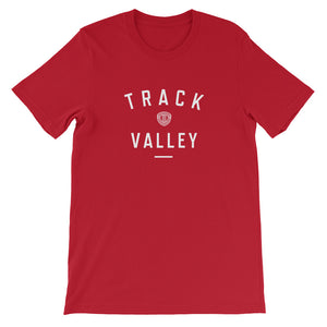 TRACK VALLEY VINTAGE MEN'S T-SHIRT RED