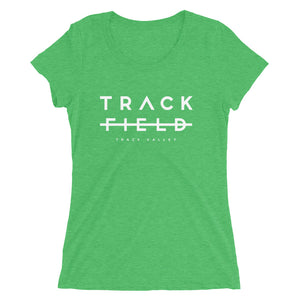 TRACK NOT FIELD WOMEN'S T-SHIRT GREEN