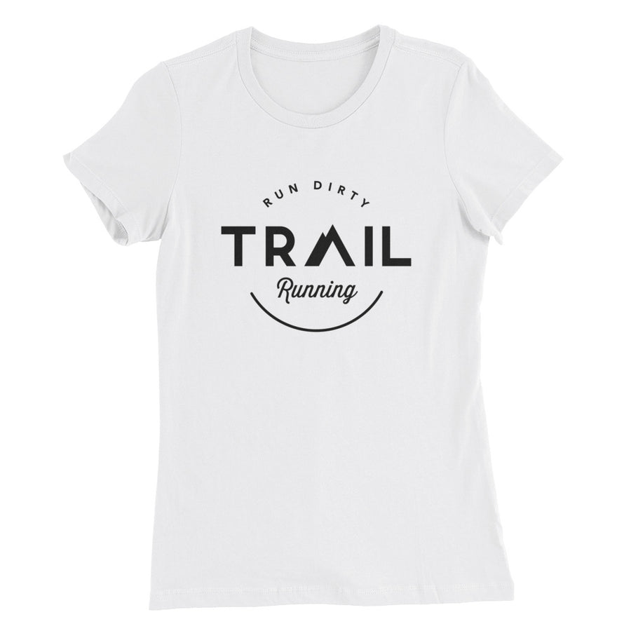 TRAIL RUNNING WOMEN'S T-SHIRT WHITE