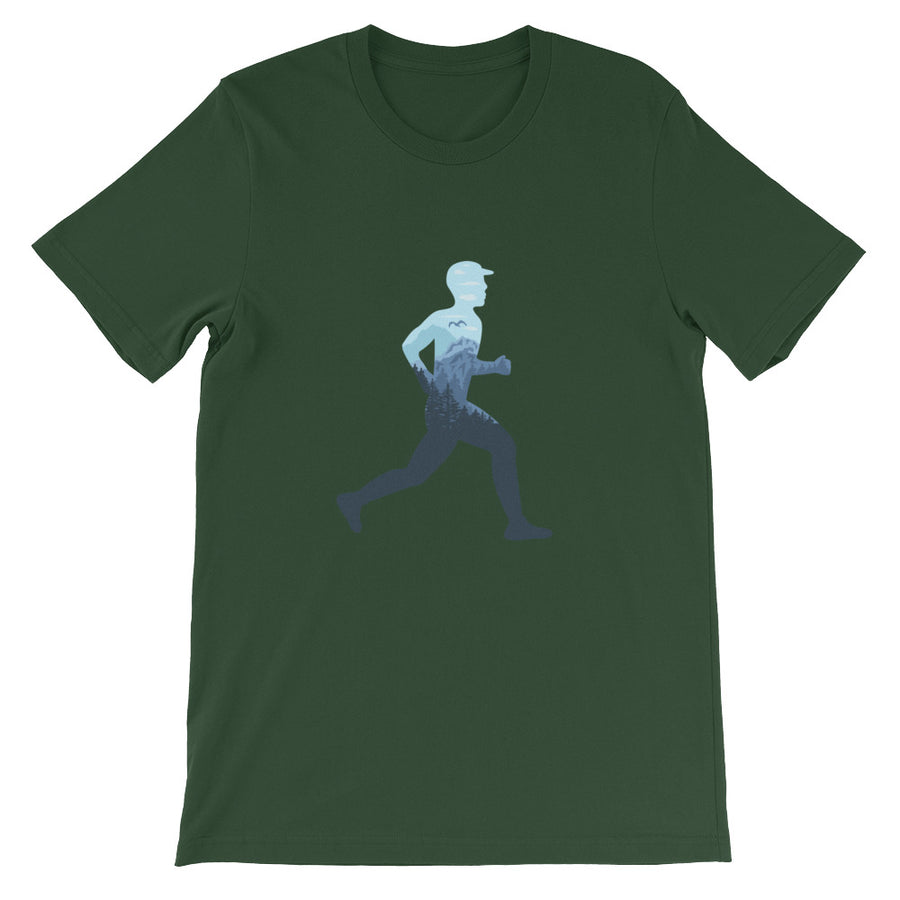 TRAIL RUNNING MEN'S T-SHIRT GREEN