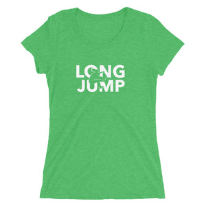 LONG JUMP WOMEN'S T-SHIRT GREEN