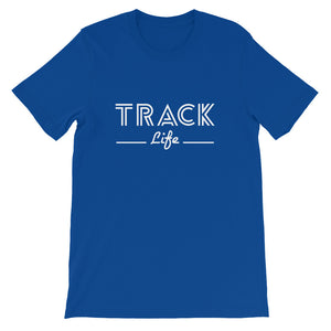 TRACK LIFE MEN'S T-SHIRT BLUE