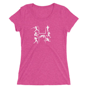 HEPTATHLON WOMEN'S T-SHIRT PINK
