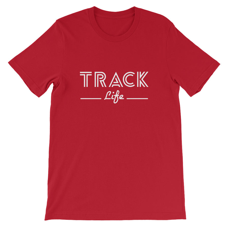 TRACK LIFE MEN'S T-SHIRT RED